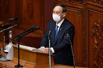 Le premier ministre japonais tient aux Jeux olympiques)
