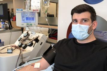 500 000$ pour le plasma convalescent)