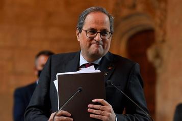 Le président catalan destitué par la justice espagnole)