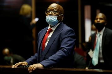 Afrique du Sud La condamnation de Jacob Zuma à la prison confirmée en justice )