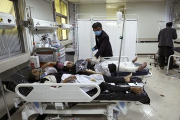 Au moins 25 morts et 50blessés dans une explosion à Kaboul )