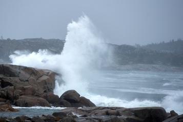 Ouragan Teddy Des risques d'inondation encore très présents pour les provinces de l'Atlantique)
