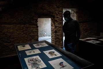 Vrais ou faux, les dessins inédits de Basquiat?)