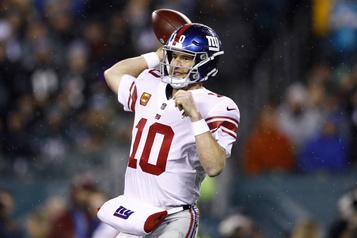 Eli Manning obtiendra un autre départ