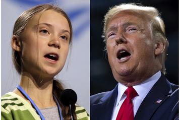 Climat: Trump «aurait adoré» rencontrer Greta Thunberg à Davos