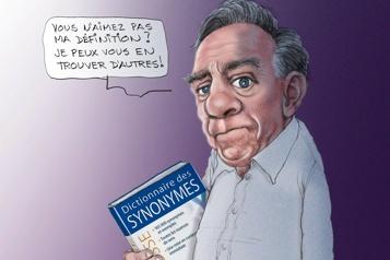 Le dictionnaire des synonymes de François Legault