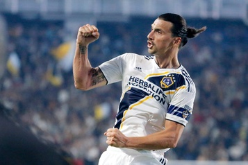 Zlatan Ibrahimovic quitte le Galaxy