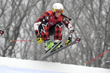 Ski cross Quatre Canadiens en finale à Reiteralm)