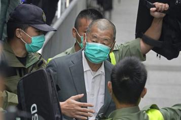 HongKong Le patron de presse prodémocratie Jimmy Lai condamné à 14mois)