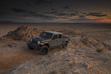 Essai routier Jeep Gladiator Mojave: sanspareil)