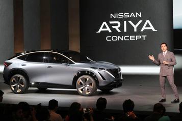 Salon de Tokyo - Nissan montre un VUS électrique, le petit frère de la Leaf