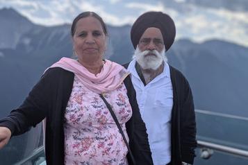 Un couple de Calgary coincé en Inde est assassiné)