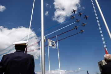 76e anniversaire du Débarquement de Normandie: des cérémonies à huis clos)