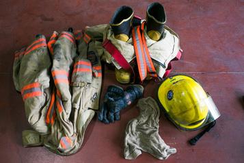 Incendie dans un garage à Drummondville