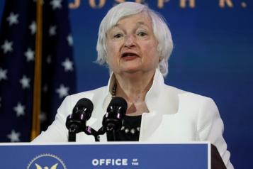 Future secrétaire au Trésor Janet Yellen appelle les élus à en faire davantage pour combattre la récession)