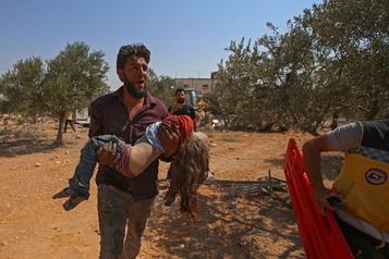 Syrie: 11 civils, dont six enfants tués dans des bombardements, selon une ONG