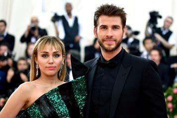 Miley Cyrus et Liam Hemsworth se séparent