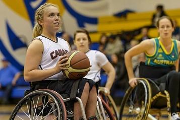 Basketball en fauteuil roulant Un nouvel horaire sans basket pour Maude Jacques)