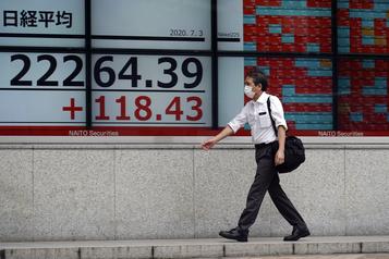 Les Bourses d'Asie reprennent espoir face au virus)