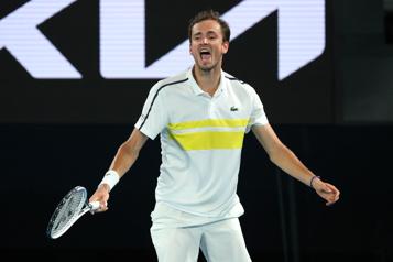 Finale des Internationaux d'Australie Novak Djokovic a toute la pression, selon Daniil Medvedev)