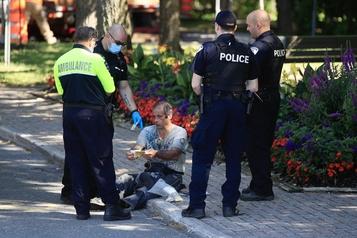 Sept jours plus tard, la police cherche toujours Martin Carpentier)