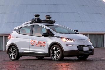GM supprime des postes dans sa division de voitures autonomes)