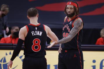 Les Raptors ont le dessus sur le Heat par 20points)