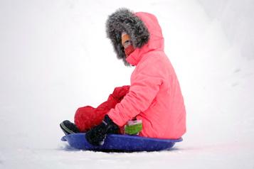 Hausse importante du nombre d'enfants blessés en allant glisser)