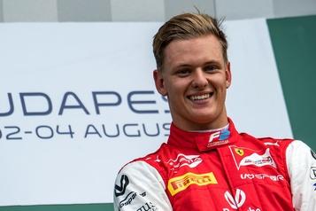 Formule 1 Mick Schumacher pilotera chez Haas en 2021)
