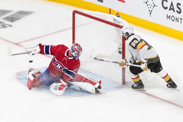 Fin du temps réglementaire  Golden Knights2— Canadien2)