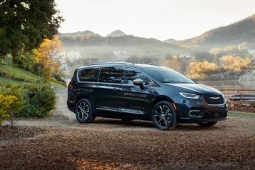 Essai routier  Chrysler Pacifica : variation sur un air connu)