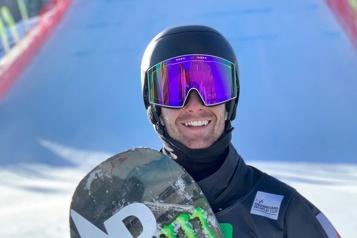 Surf des neiges Maxence Parrot commence en force)
