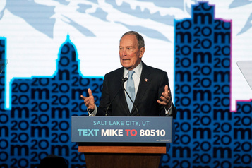Après un féroce débat démocrate, Bloomberg brandit le risque de la division
