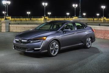 Honda abandonne sa Clarity)