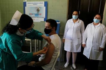 COVID-19 Cuba va commencer à utiliser ses propres vaccins)