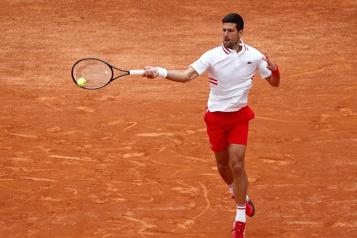 Tournoi de Rome Djokovic remporte la bataille contre la pluie et Fritz)