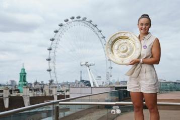 Classement de la WTA Ashleigh Barty prend le large en tête)