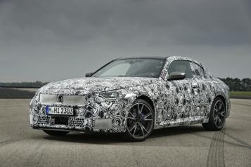 BMW Derniers préparatifs avant le lancement de la nouvelle Série2Coupé)