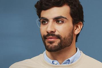 IRIS La numérisation du visage pour des lunettes parfaites)