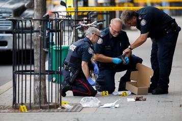 Toronto attribue les fusillades aux gangs de rue