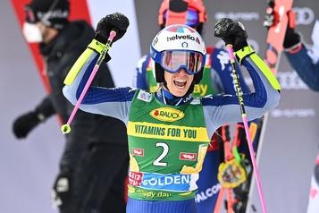 Ski alpin Marta Bassino gagne le slalom géant d'ouverture à Sölden)