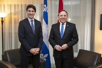 Un Montréalais arrêté pour avoir menacé de mort Legault et Trudeau)