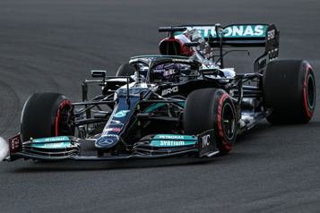 Grand Prix de Turquie Lewis Hamilton domine les deux séances d'essais