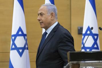 Israël Vote au Parlement sur le gouvernement, fin attendue de l'ère Nétanyahou)