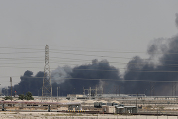 Attaque contre l'Arabie saoudite: le prix du pétrole s'envole
