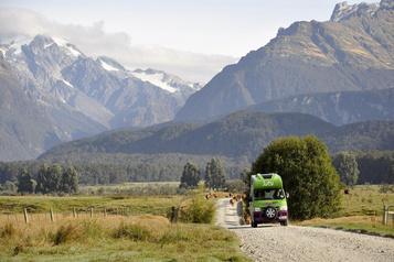 Road-trip dansl'îleduSud en Nouvelle-Zélande
