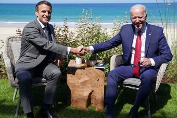 Crise des sous-marins Macron et Biden vont se rencontrer aujourd'hui)