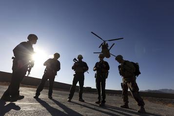 Les États-Unis très en avance sur le retrait de leurs troupes d'Afghanistan)