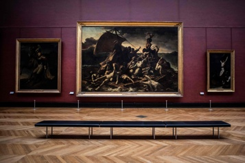 Baisse de fréquentation de plus de 70% au Louvre)