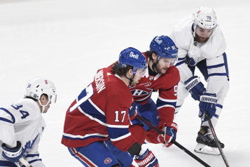 Maple Leafs c. Canadien : notre couverture en direct)